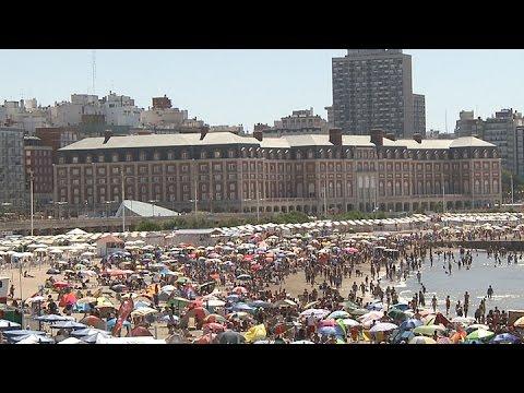 Mar del Plata recibió 620.000 turistas durante la primera quincena de Enero
