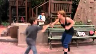Debby Ryan - Behind The Scenes - Fighting with Cameron Boyce on Jessie's Set