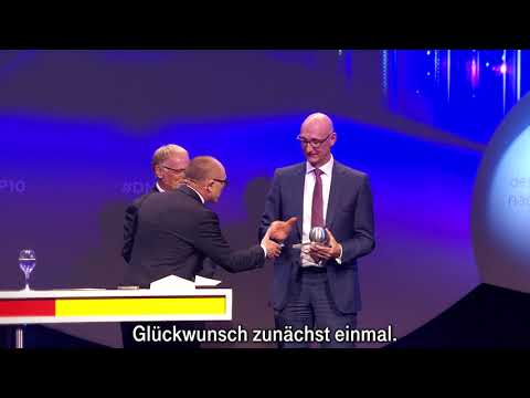 Social Media Post: Deutscher Nachhaltigkeitspreis: Telekom ist Deutschlands...