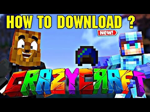 HOW TO DOWNLOAD CRAZY CRAFT MOD IN MINECRAFT FOR ANDROID ?