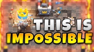 Really CLASH WITH ASH!? - THIS IS IMPOSSIBLE  - CLASH ROYALE