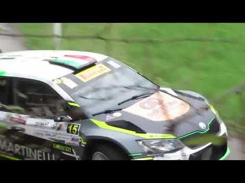 Rally Appennino Reggiano 2019 Incidente