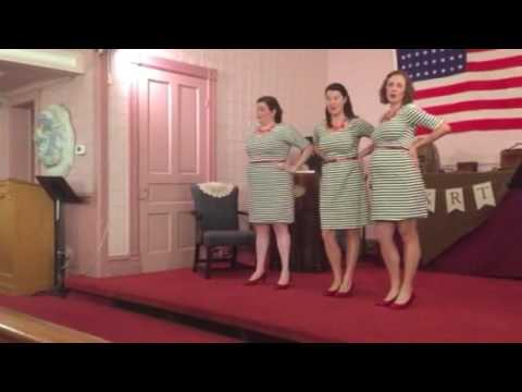Boogie Woogie Bugle Boy of Co B Irving Sisters