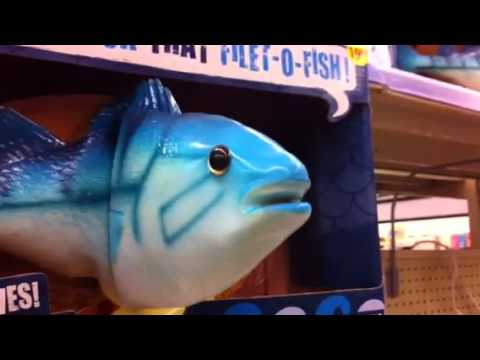The greatest singing fish video ever