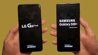 LG G8 vs Samsung Galaxy S10+ Speed Test, C