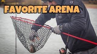 Обзор раскладного подсака Favorite Arena. Favorite Arena folding landing net.
