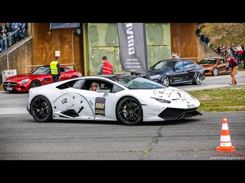 Lamborghini Huracan LP610-4 w/ Capristo Exhaust - LOUD Accelerations & Crackles !