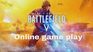 Battlefield V online game play