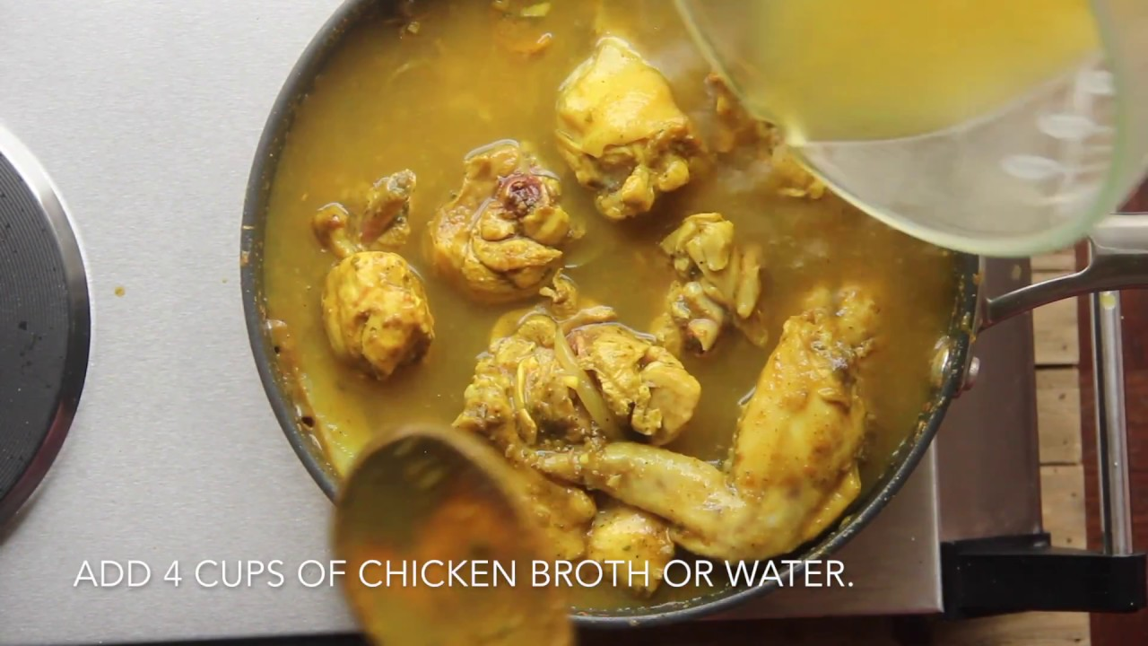 recipe: trinidad curry chicken coconut milk [13]