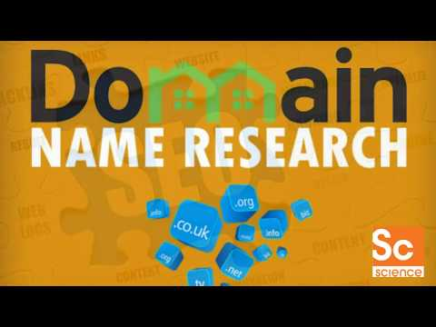 SEO Tutorial and Seo Training -    domain name  and domain registration  (SECRET strategy)