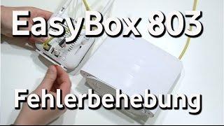 EasyBox 803 - Fehlerbehebung