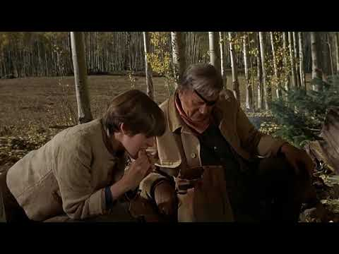 True Grit 1969 Texas Waddies Drinking Out Of A Hoofprint