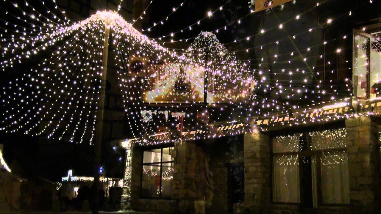 Illuminations de no l rochefort en terre un des plus beaux villages de france morbihan for Illumination exterieure pour noel
