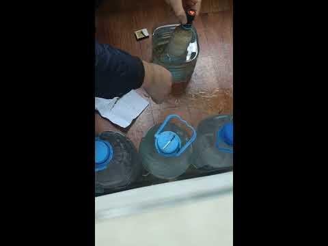 Курю гашиш (центр,ручник) через водный (мокрый).