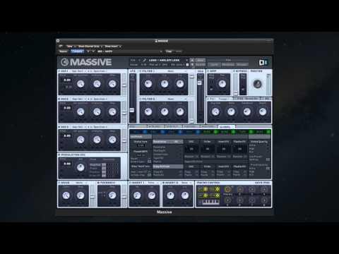 Massive TRAP Presets - Soundbank For NI Massive Synth!