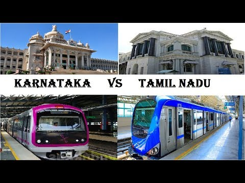 Karnataka VS Tamil Nadu | COMPARISON | Best state in India | TOP VIDEOS