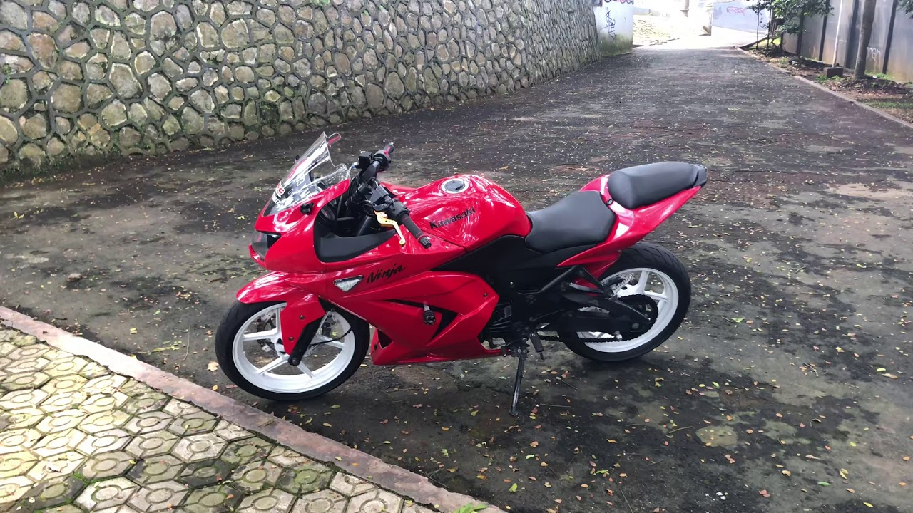 Knalpot R9 Mugello Cek Sound Ninja 250 R Karbu Old Racing