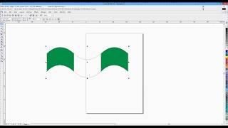 How to draw a Nigeria flag using Coreldraw