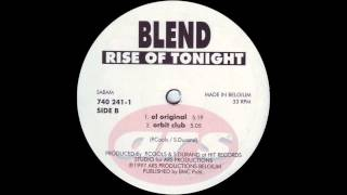 Blend - Rise of Tonight (Orbit Club) (1997)