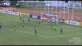 Highlight Persib vs Persebaya Babak 8 Besar ISL 2014
