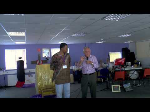 2015 Frank Perry explains-How to pray during Evangelism-Kings Voice-Sun 23rd Aug-Part 3