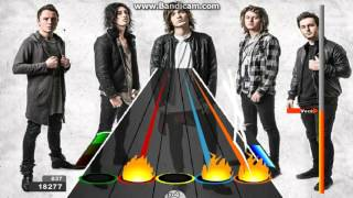 Guitar Flash Circled By The Wolves - Asking Alexandria 100% Expert 36,860
