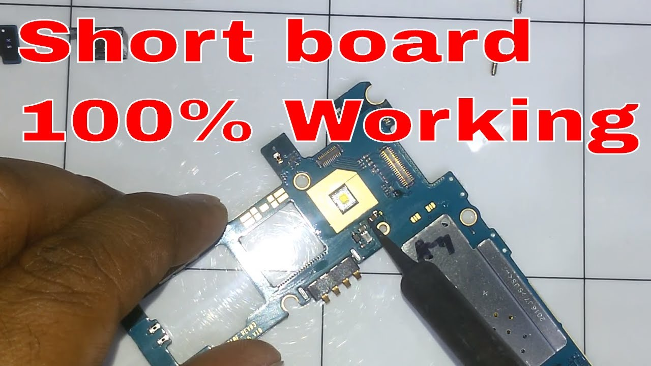 How To Samsung Galaxy J710f Dead Board Short Solution