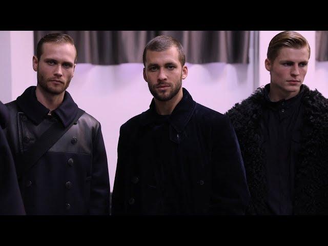 Giorgio Armani Men's Fall Winter 2018-19 Fashion Show - Backstage Video