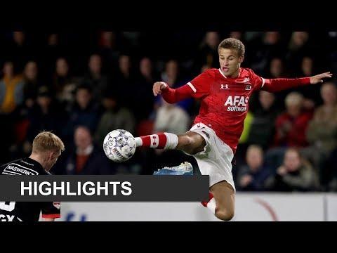Highlights Jong AZ - NEC | Keuken Kampioen Divisie