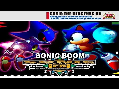 [SONIC KARAOKE ~INSTRUMENTAL~] Sonic CD - Sonic Boom (Crush 40 vs Cash Cash) [HD]