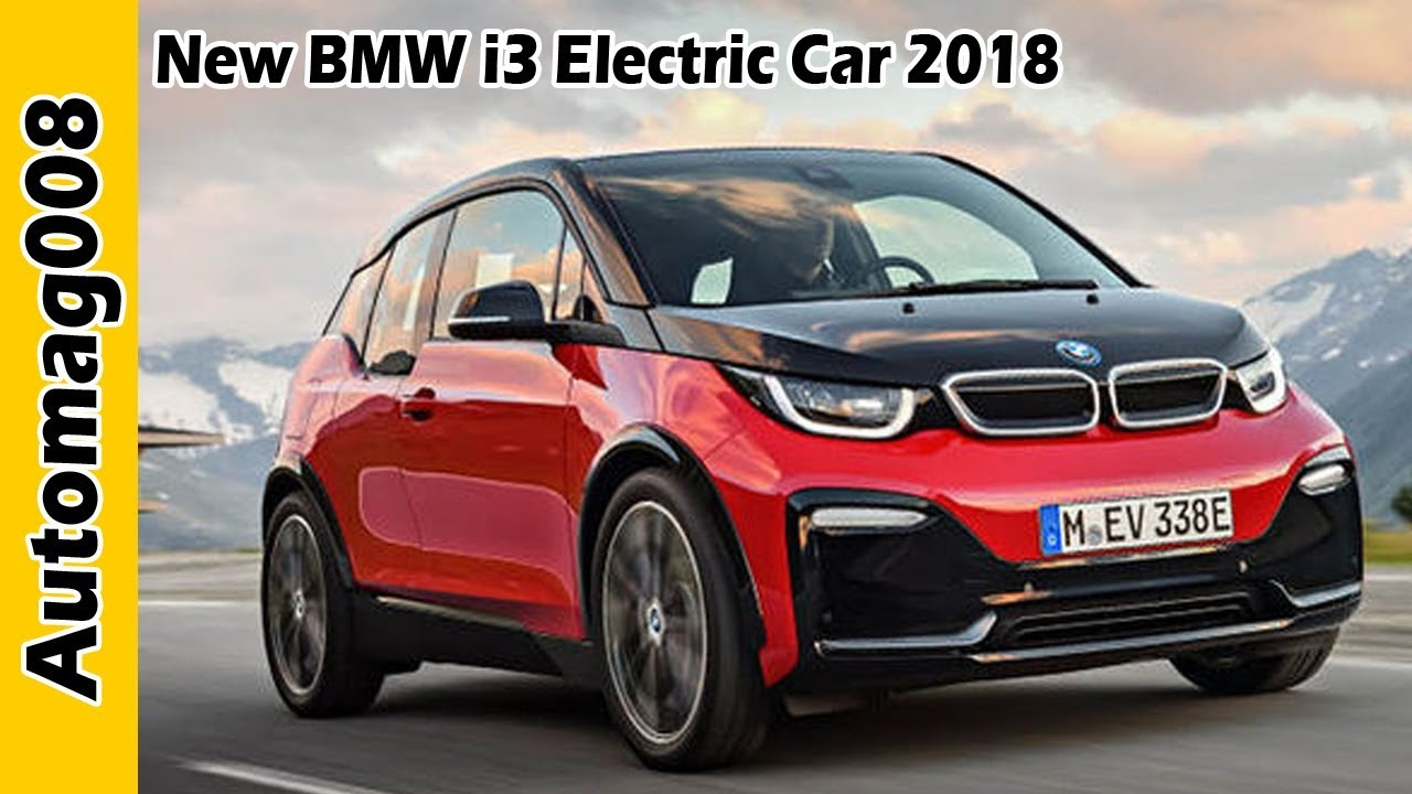 new bmw i3 electric car 2018 first drive