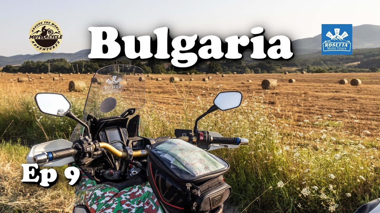 Ep 9 - Motorcycle Trip around Bulgaria / What a Country I have!