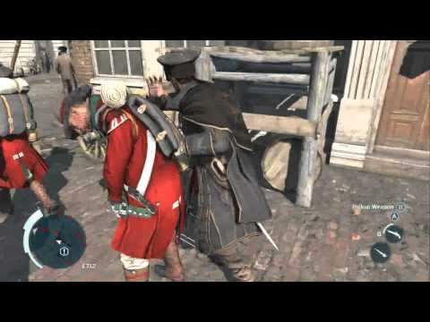 Assassin's Creed 3 Gameplay Walkthrough with Commentary HD Part 7 -Parry Palooza!- Sequence 2