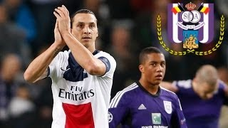 Zlatan Ibrahimovic vs Anderlecht HD