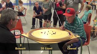 Crokinole 2017 World Championship Final - Conrad v Bonnett
