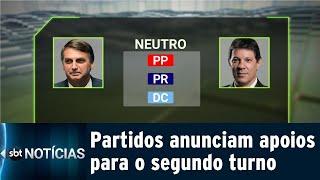 Partidos mantêm isenção no segundo turno para a Presidência| SBT Notícias (10/10/18)