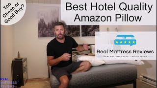 Best Hotel Quality Pillow on Amazon   Hotel Pillow Review