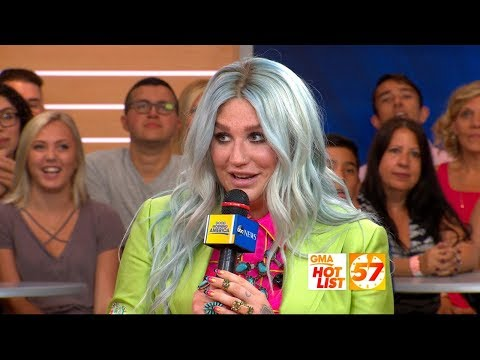 'GMA' Hot List: Kesha says her new album 'literally saved my life'