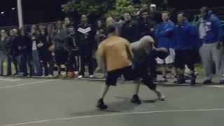 HD Игрок NBA играет в баскетбол под видом старика Часть 1