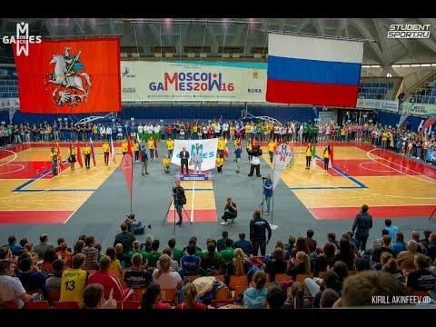 Открытие Moscow Games 2016