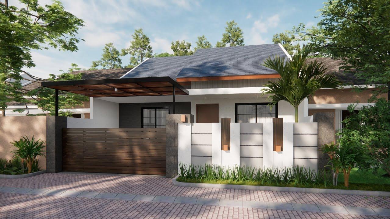 Sketchup House Design 9 + Enscape Rendering