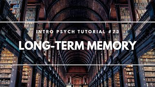 Long-Term Memory (Intro Psych Tutorial #73)