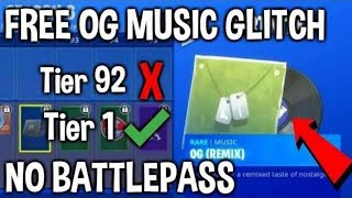 FORTNITE FREE BATTLE PASS ITEM GLITCH GET ITEMS FOR FREE! SEASON 6