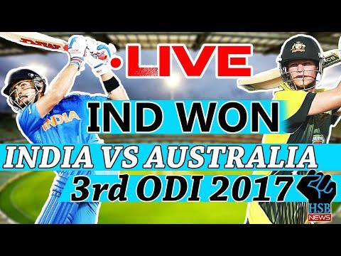 Live IND vs AUS 3rd odi , AUS Win Toss, Elect To Bat, Live Cricket Score: AUS 39-0