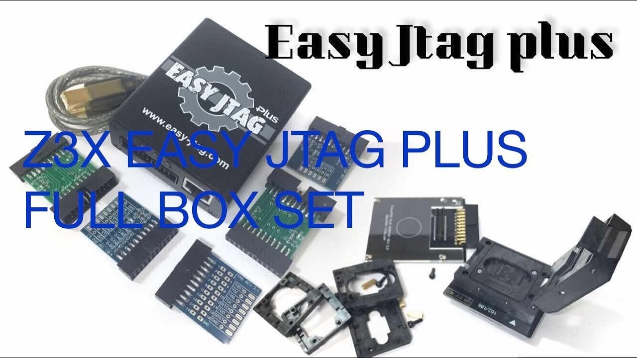 Z3X Easy JTAG Plus  ОБЗОРИЩЕ