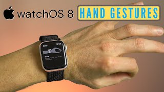 How to Enable Apple WatchOS 8 Assistive Touch to Use Hand Gestures screenshot 4