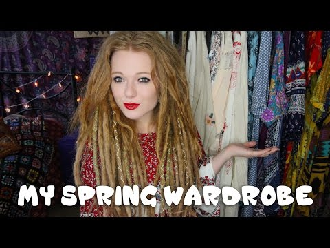 My Spring Wardrobe | Hippie Bohemian 70s