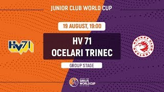 Junior Club World Cup 2018. HV71 – Ocelari Trinec (U20)