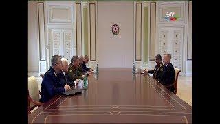 Президент Азербайджана принял начальника Генштаба ВС России
