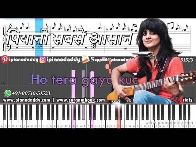 Nit Nit Piano Tutorial Jasleen Royal + Piano Notes